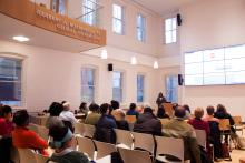 Speaker Tanya Sanders, Williams, Global Commons, Lehigh University Religion, audience