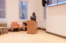 Speaker Tanya Sanders, Williams, Global Commons, Lehigh University Religion