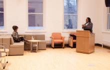 Speaker Tanya Sanders, Monica Miller, Williams, Global Commons, Lehigh University Religion