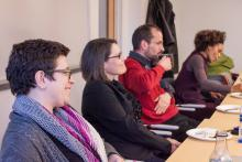Faculty and guest discussion, Lehigh University Religion, Williams