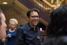 Dr. Hartley Lachter at 2014 Graduate Meet and Greet
